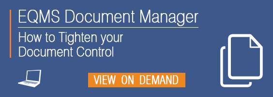Webinar   DM Doc Control