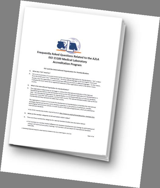 ISO 15189 Checklist