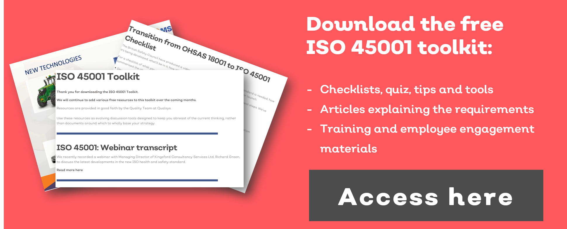 ISO 45001 clauses reviewed