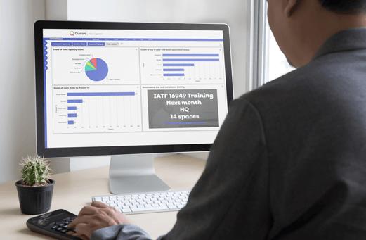 BI Dashboard GRC software
