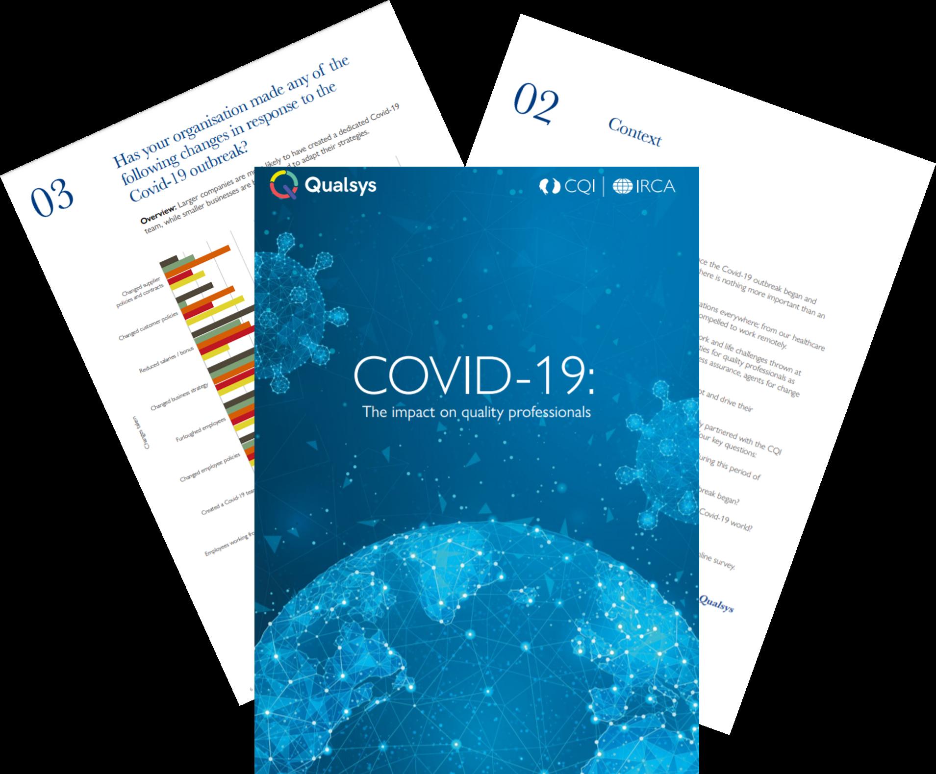 COVID 19 quality profession report