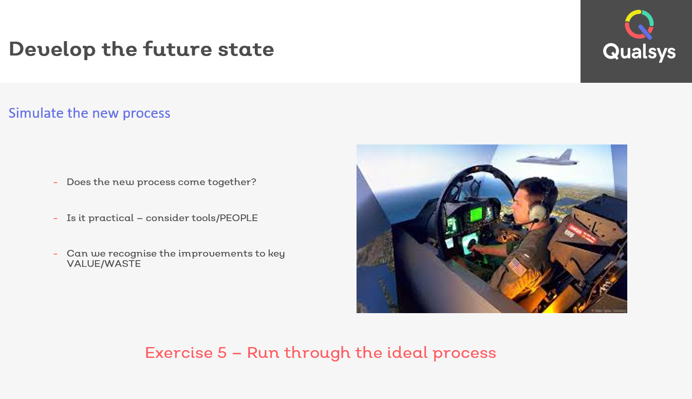 Develop future Kaizen state