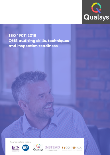 ISO 19011: 2018 Toolkit CQI PDF, Videos & More
