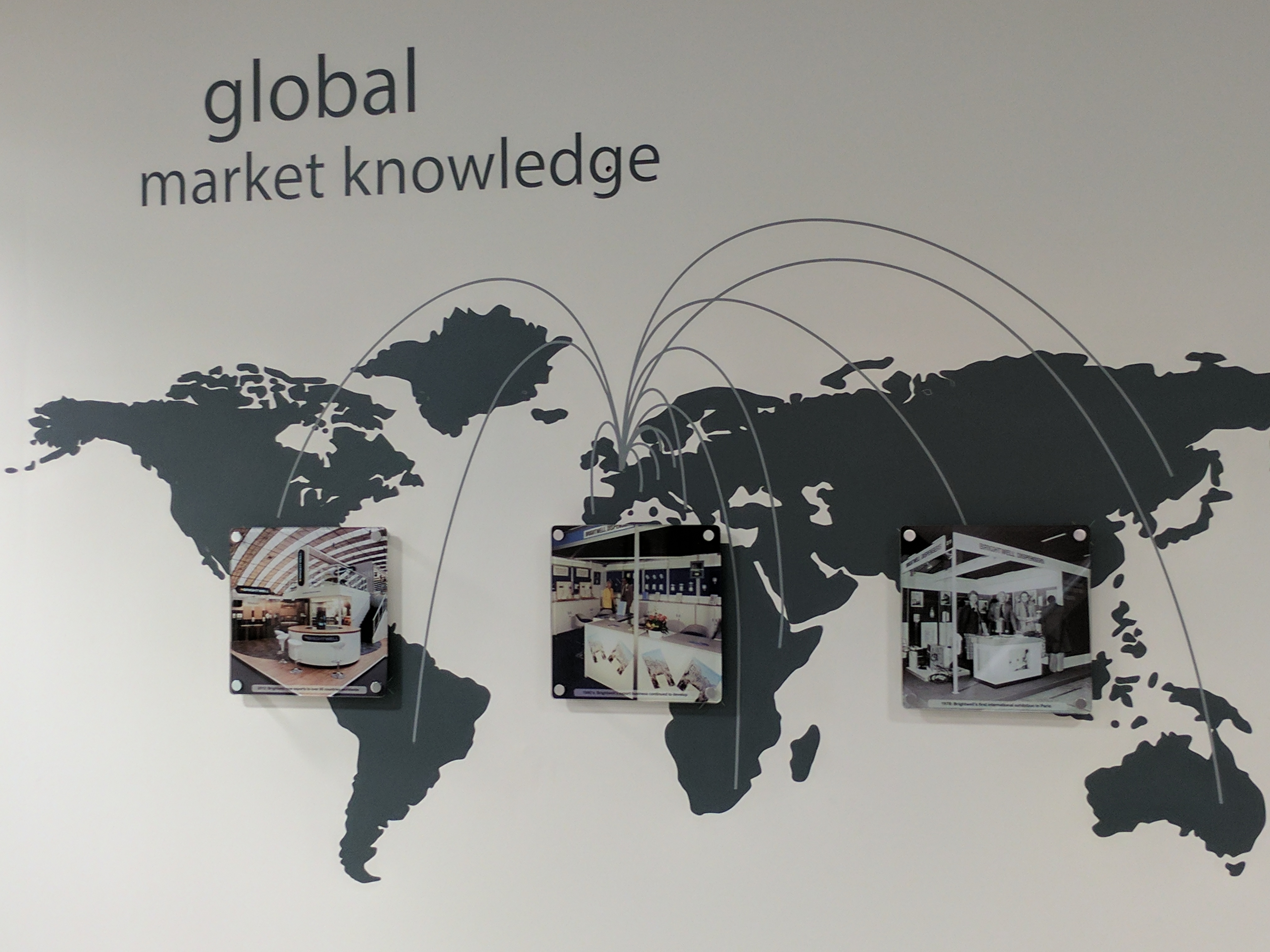Brightwell supply all across the world
