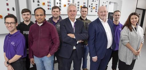 IQE Cardiff staff
