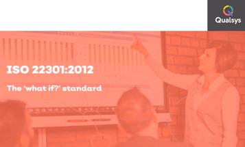 ISO 22301 webinar recording