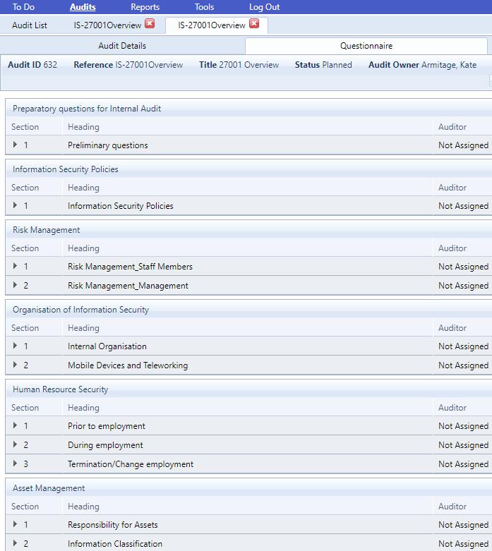 ISO 27001 - Audit-2
