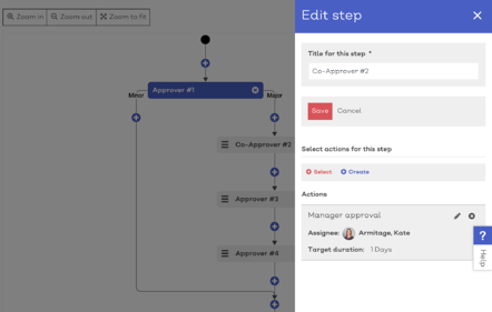 Issue Manager approval workflow