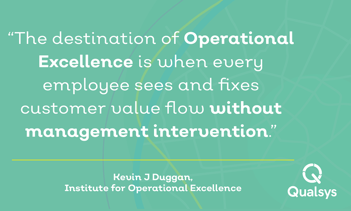 Continuous improvement vs operational excellence kevin duggan operational excellenceg thecheapjerseys Choice Image