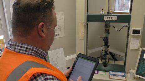 Rawson Mobile Auditing iPad 2