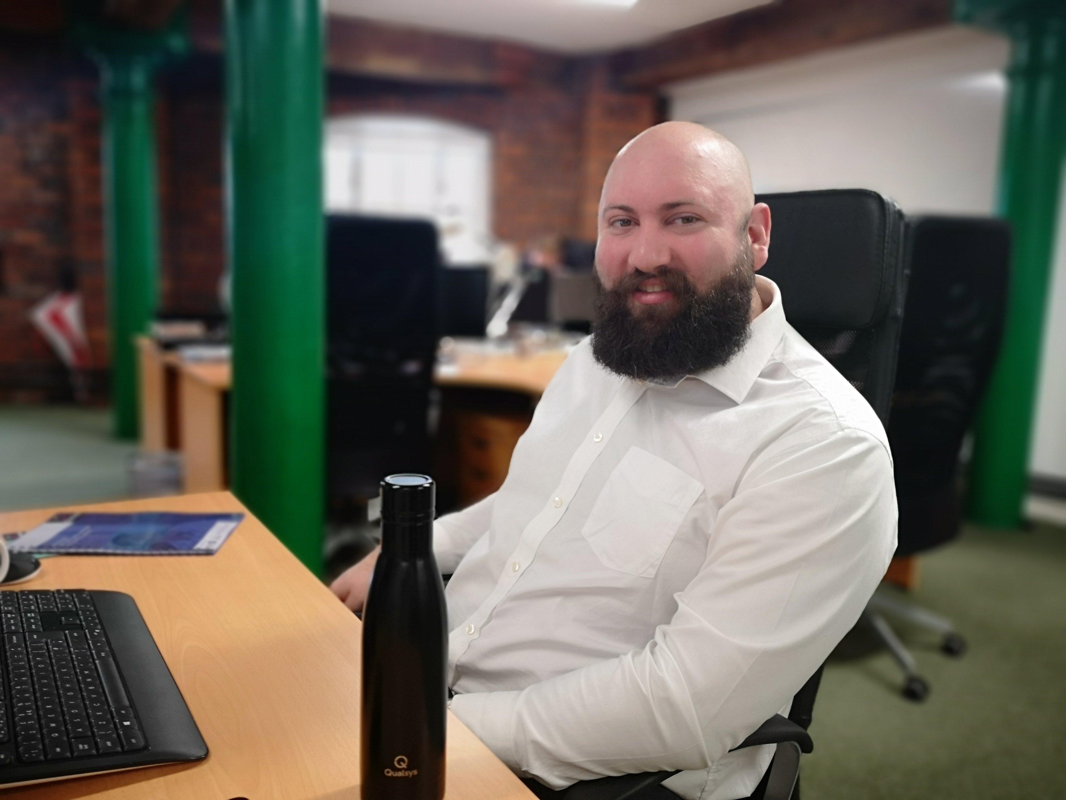 Tom Speddings Customer success manager