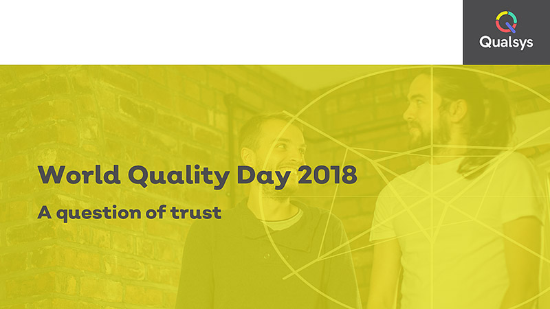 World Quality Day new