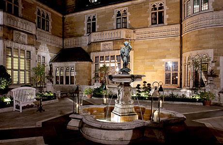 Merchant Taylors courtyard