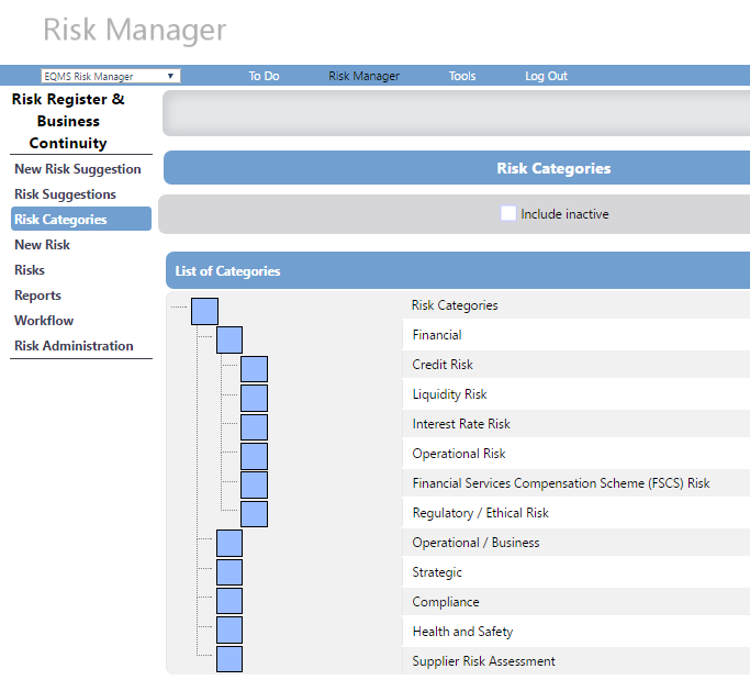 Identify and prioritise risk with EQMS