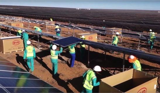 solar global energy plant