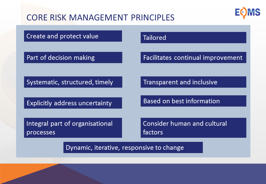 ISO 31000: Risk management principles