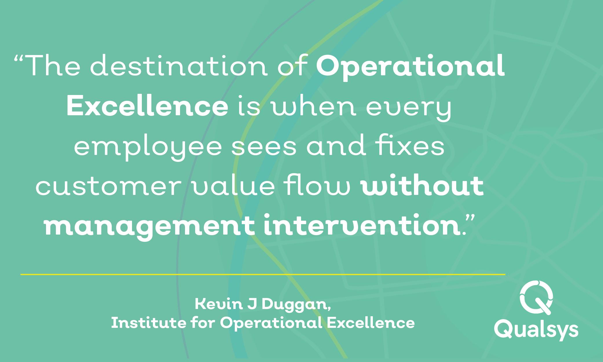 Continuous improvement vs operational excellence kevin duggan continuous improvement vs operational excellence kevin duggan expert in lean techniques interview altavistaventures Images